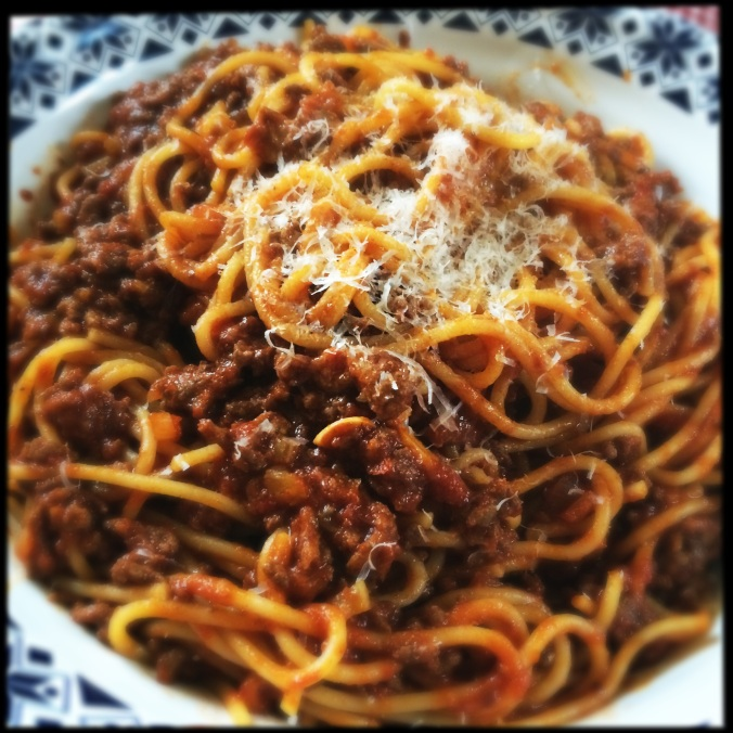 Spaghetti Bolognese / Beef Ragu