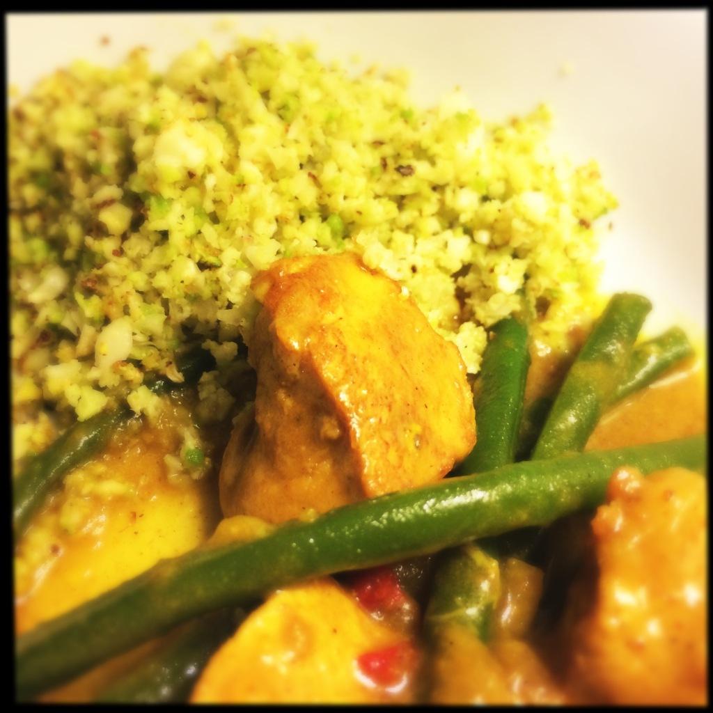 Vietnamese Curry with Cauliflower Rice