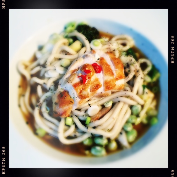 N for Noodles