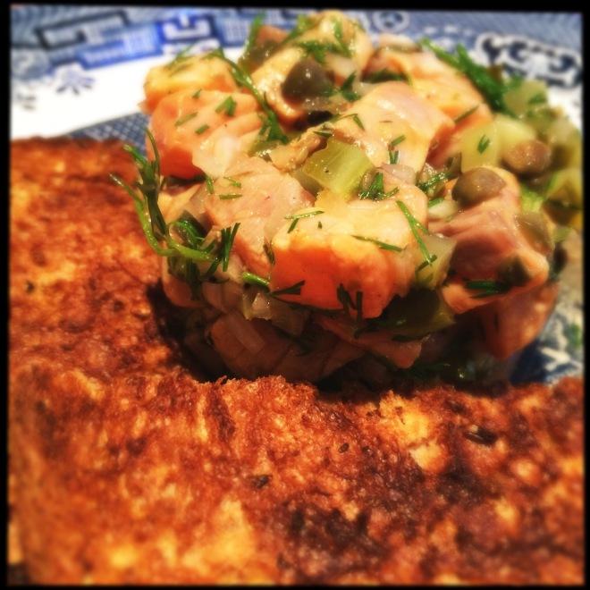Healthy Salmon Tartare