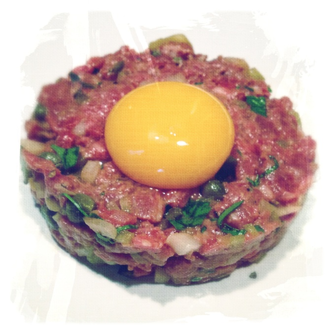 Close up of Steak Tartare