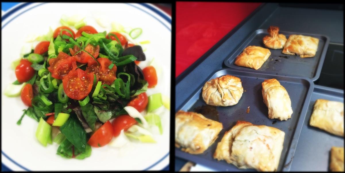 Salad & vegetable bakes
