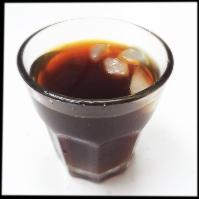 Cold pressed coffee