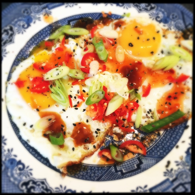 Mrs Jang's home style fried eggs