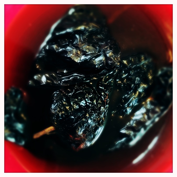 Ancho and Pasilla chillies