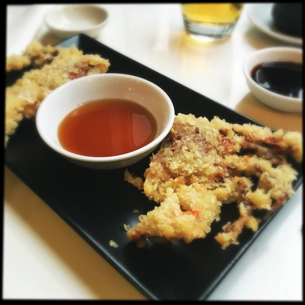 Japanese style tempura crab