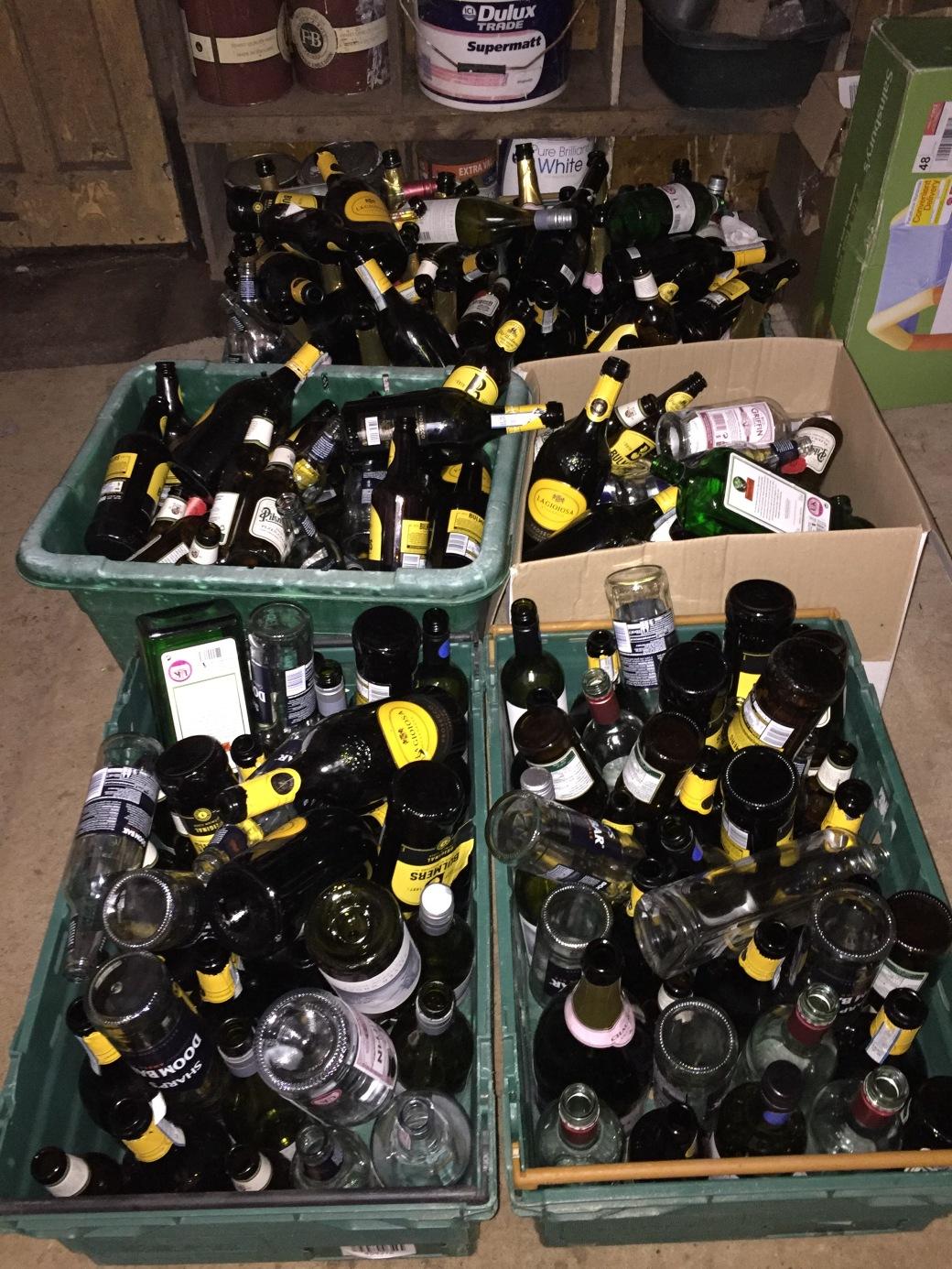 Heatbeat party bottles