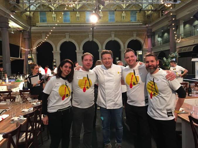 Food Revolution Ambassadors with Jamie Oliver