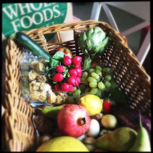 beautiful fruit and veg