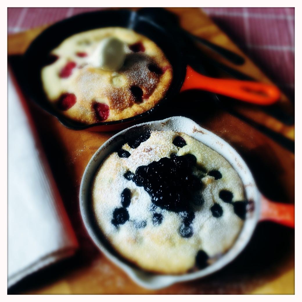 gorgeous baked sharing pancakes