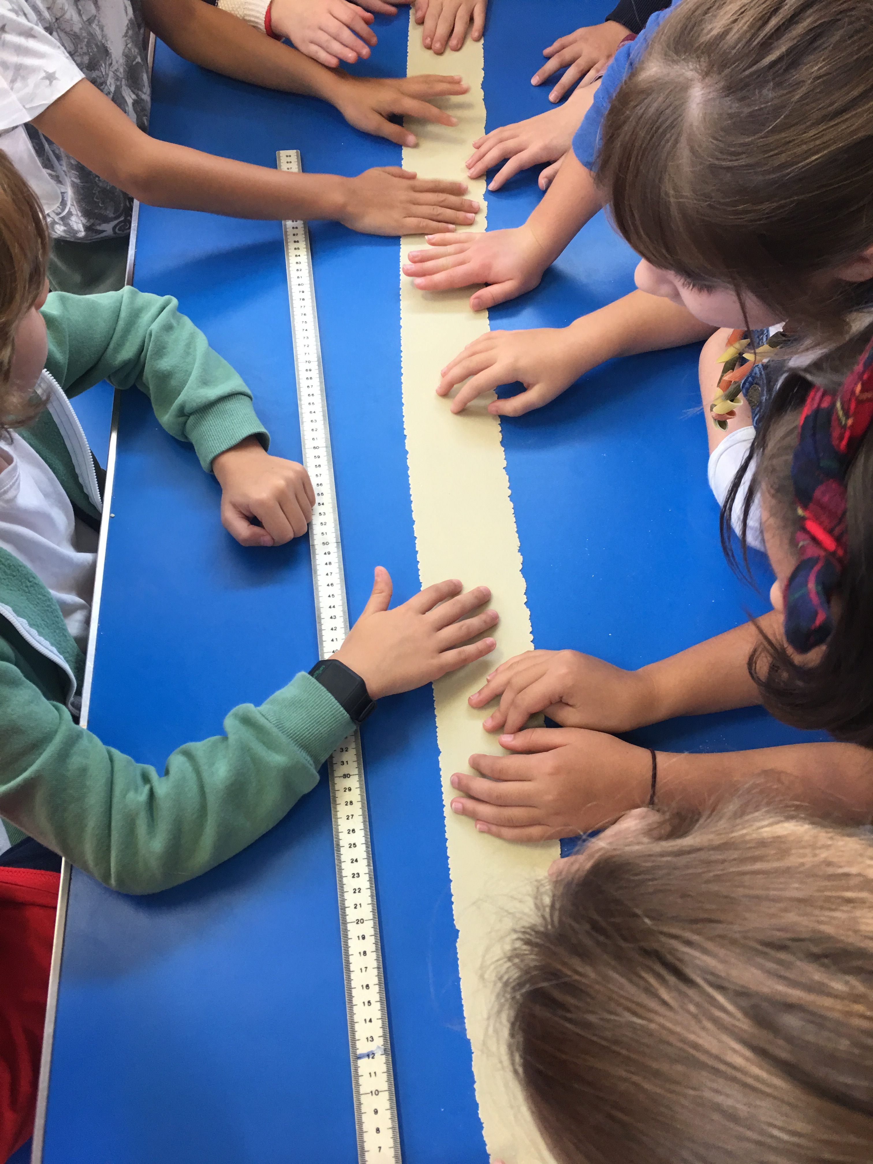 measuring pasta