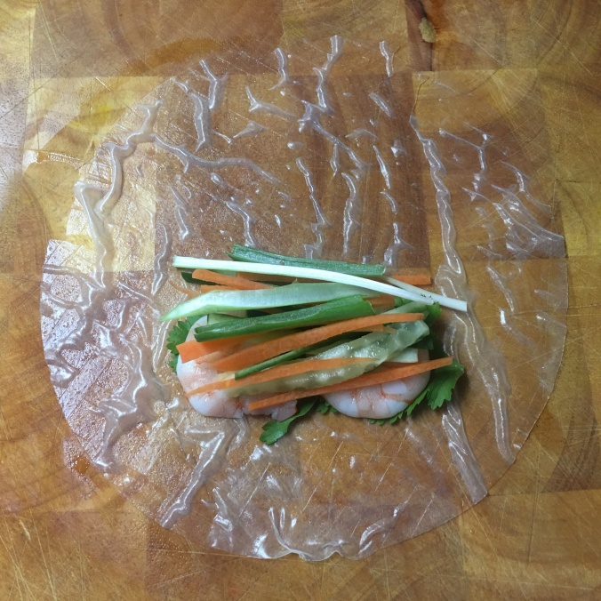 Vietnamese Rice Paper filling