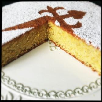 tarta de santiago cake