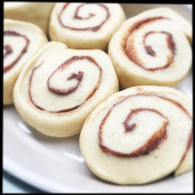 Cardamom bun 2nd proof