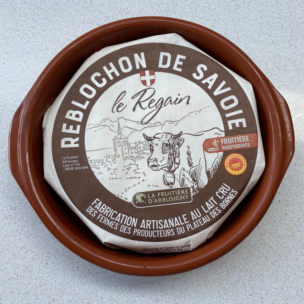 Reblochon cheese from France.